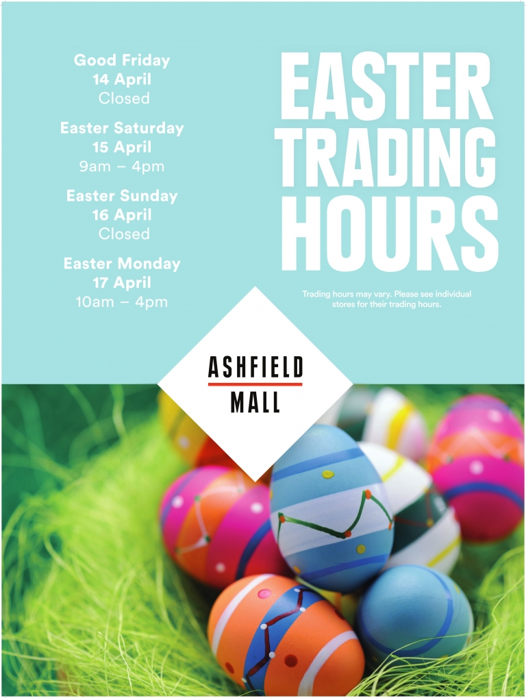 easter monday trading hours - photo #15